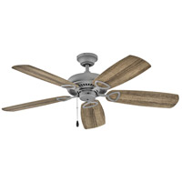 Hinkley 901352FGT-NIA Marquis 52 inch Graphite with Driftwood Blades Ceiling Fan in No Regency Series