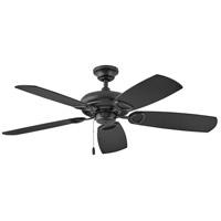 Hinkley 901352FMB-NIA Marquis 52 inch Matte Black with Matte Black/KOA Blades Ceiling Fan in No KOA Regency Series