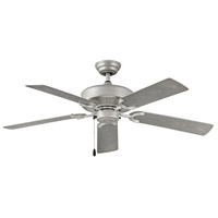 Hinkley 901652FBN-NWA Oasis 52 inch Brushed Nickel with Silver Blades Outdoor Ceiling Fan
