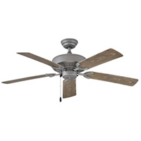 Hinkley 901652FGT-NWA Oasis 52 inch Graphite with Driftwood Blades Outdoor Ceiling Fan