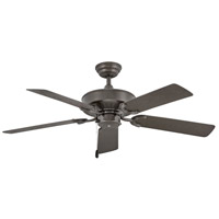 Hinkley 901652FMM-NWA Oasis 52 inch Metallic Matte Bronze Outdoor Ceiling Fan