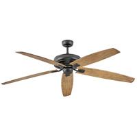 Hinkley 902672FMB-NWD Tempest 70 inch Matte Black with KOA Blades Ceiling Fan