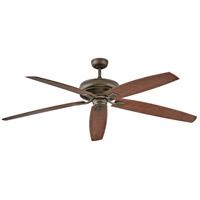 Hinkley 902672FMM-NWD Tempest 70 inch Metallic Matte Bronze with Walnut Blades Ceiling Fan