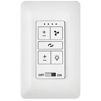 Hinkley 980001FWH 4 Speed White Wall Control DC