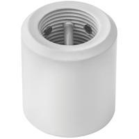 Hinkley 991001FCW Steel Chalk White Fan Downrod Coupler