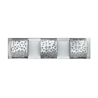 Hinkley Lighting Mira-Fizz 3 Light Bath Vanity in Polished Chrome FR55453PCM