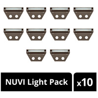 Hinkley 15446BZ-10 Nuvi 12V 1.9 watt Bronze Landscape Deck in 10, 10 Pack alternative photo thumbnail