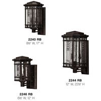 Hinkley 2246RB Tahoe 1 Light 12 inch Regency Bronze Outdoor Mini Wall Mount alternative photo thumbnail