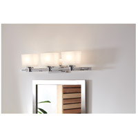 Hinkley 5023CM Taylor 3 Light 28 inch Chrome Bath Light Wall Light in G9 alternative photo thumbnail
