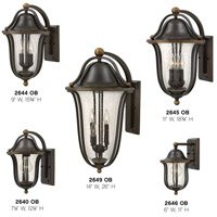 Hinkley 2649OB Bolla 4 Light 26 inch Olde Bronze Outdoor Wall Mount, Clear Seedy Glass alternative photo thumbnail
