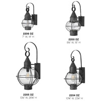 Hinkley 2200DZ Cape Cod 1 Light 18 inch Aged Zinc Outdoor Wall Mount alternative photo thumbnail