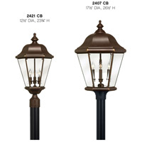 Hinkley 2421CB Clifton Park 3 Light 24 inch Copper Bronze Outdoor Post Mount, Post Sold Separately alternative photo thumbnail