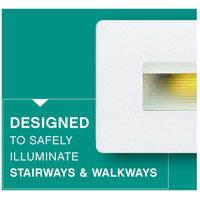 Hinkley 58508SW Luna 120V 4 watt Satin White Landscape Deck, Line Voltage alternative photo thumbnail