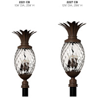 Hinkley 2221CB Plantation 3 Light 25 inch Copper Bronze Outdoor Post Mount, Post Sold Separately alternative photo thumbnail