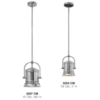 Hinkley 3257CM Pullman 1 Light 10 inch Chrome Foyer Pendant Ceiling Light in Incandescent alternative photo thumbnail