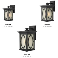 Hinkley 1494BK Randolph 1 Light 15 inch Black Outdoor Wall Mount in Incandescent alternative photo thumbnail