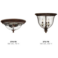 Hinkley 3716FB Rockford 2 Light 16 inch Forum Bronze Foyer Flush Mount Ceiling Light alternative photo thumbnail