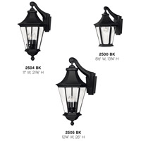 Hinkley 2504BK Senator 3 Light 22 inch Black Outdoor Wall Mount alternative photo thumbnail