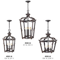 Hinkley 4522AI Sorrento 3 Light 12 inch Aged Iron Foyer Light Ceiling Light alternative photo thumbnail