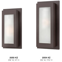 Hinkley 2054KZ Titan 1 Light 18 inch Buckeye Bronze Outdoor Wall Mount in Incandescent alternative photo thumbnail