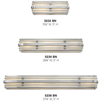 Hinkley 5232BN Winton 2 Light 16 inch Brushed Nickel Bath Light Wall Light in Incandescent alternative photo thumbnail