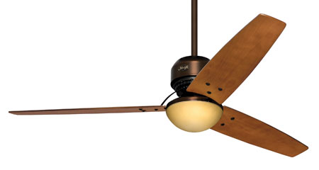 Hunter Prestige Fans Tribeca II Ceiling Fan With Light And Remote 60inch in Bronze Patina 20496 photo