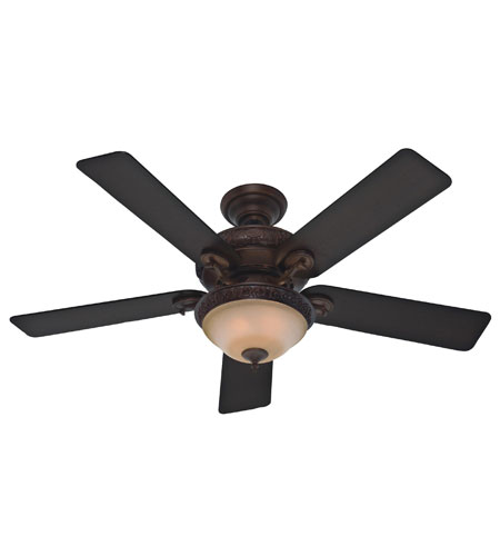 Hunter Prestige Fans Vernazza Ceiling Fan With Light 52inch in Brushed Cocoa 20551 photo