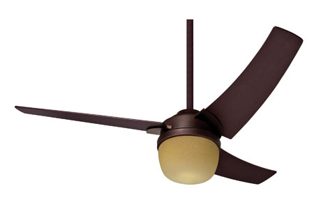 Hunter Prestige Fans Eurus Ceiling Fan With Light And Remote 54inch in Blackened Bronze 21807 photo