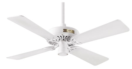 Hunter Prestige Fans Classic Original Ceiling Fan 42inch in White 23827 photo