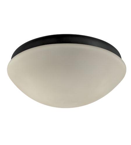 Hunter Fans Outdoor Fan Light 2 Light Fan Light Kit in Textured Black 28387 photo