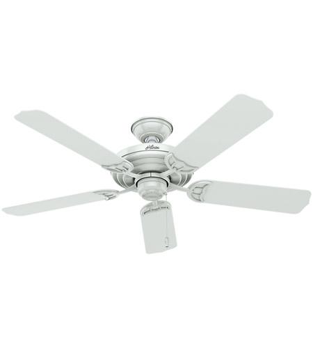 Hunter fan 53054 sea air 52 inch white outdoor ceiling fan aloadofball Images