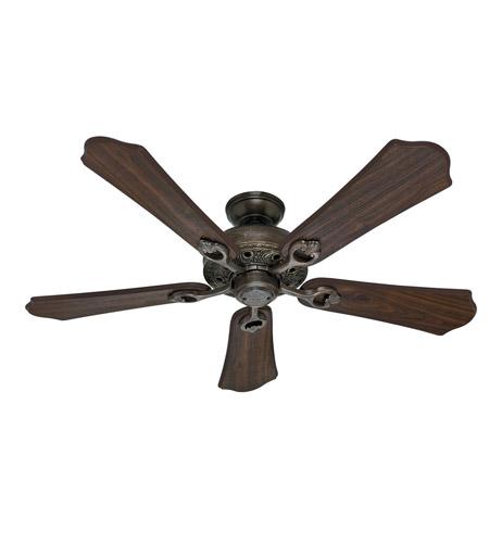 New 52 3 Light Bronze Indoor Ceiling Fan Best Price: Hunter Fan 53202 Kingsbury 52 Inch Roman Bronze With