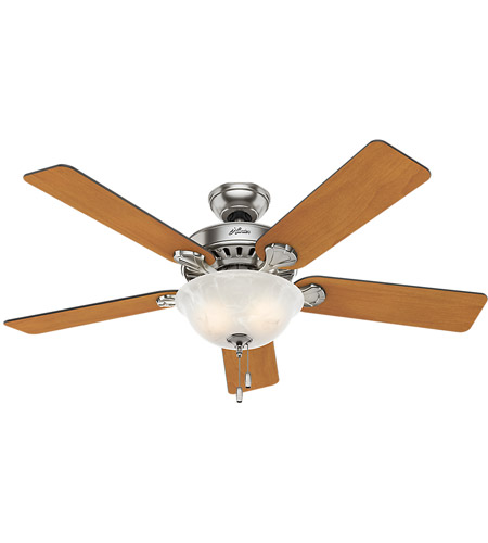 Hunter Fan 53249 Pros Best 52 Inch Brushed Nickel With