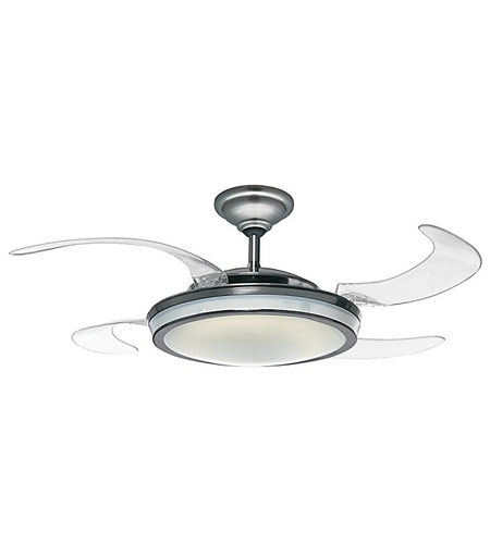 48 inch ceiling fan 36 inch hunter fan 59085 fanaway 48 inch brushed chrome with clear blades ceiling photo