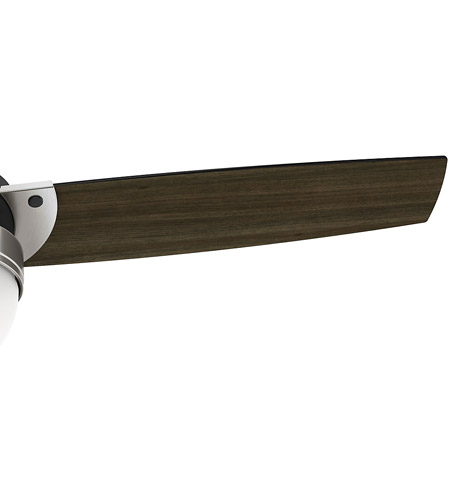 Hunter Fan 59228 Flare 48 inch Matte Black with Dark Walnut Blades Ceiling Fan alternative photo thumbnail