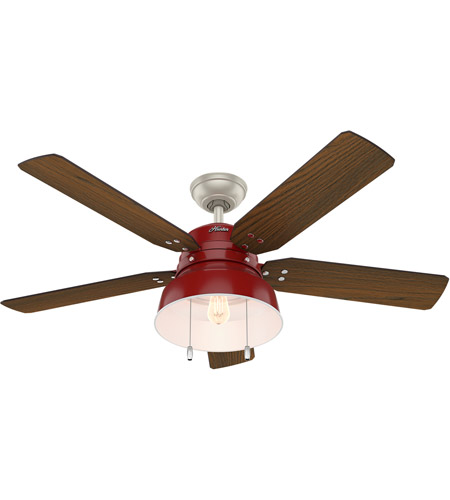 Red Indoor Ceiling Fans