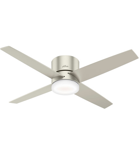 Fan 59373 Advocate 54 Inch Matte Nickel