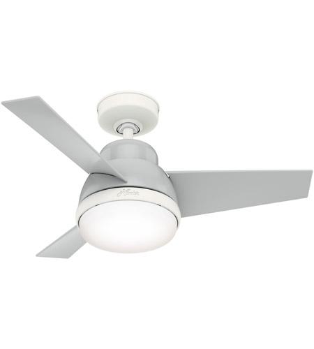 Hunter Fan 51328 Valda 36 Inch Dove Grey Ceiling Fan