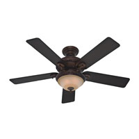 Hunter Prestige Fans Vernazza Ceiling Fan With Light 52inch in Brushed Cocoa 20551