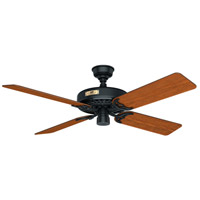 Hunter Fan 23838 Original 52 inch Black with Walnut/Cherry Blades Outdoor Ceiling Fan
