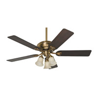 Hunter Fans Bixby 3 Light Indoor Ceiling Fan in Antique Brass 28791