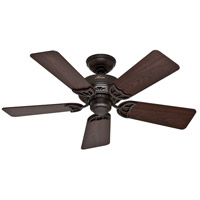 Hudson 42 inch New Bronze with Dark Walnut/Medium Oak Blades Ceiling Fan