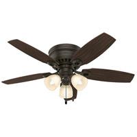 Hunter Fans Hatherton 3 Light Indoor Ceiling Fan in New Bronze 52086