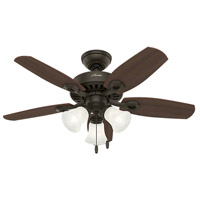 Hunter Fans Builder 3 Light Indoor Ceiling Fan in New Bronze 52107