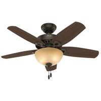 Hunter Fan 52218 Builder 42 inch New Bronze with Brazilian Cherry/Harvest Mahogany Blades Ceiling Fan