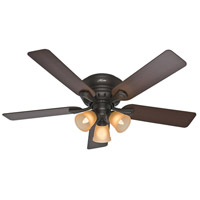 Hunter Fans Reinert 3 Light Indoor Ceiling Fan in Premier Bronze 53012