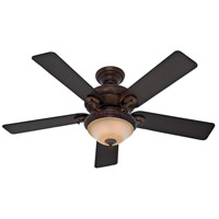 Vernazza 52 inch Brushed Cocoa with Aged Barnwood/Rustic Lodge Blades Indoor Ceiling Fan