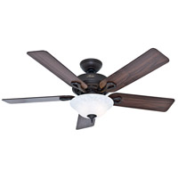 Hunter Fans The Kensington 2 Light Indoor Ceiling Fan in New Bronze 53048