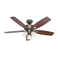 Hunter Fans Conway 3 Light Indoor Ceiling Fan in Antique Pewter 53052