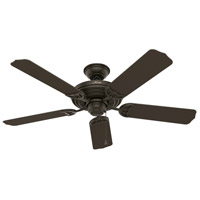 Hunter Fan 53061 Sea Air 52 inch New Bronze with Walnut Blades Outdoor Ceiling Fan